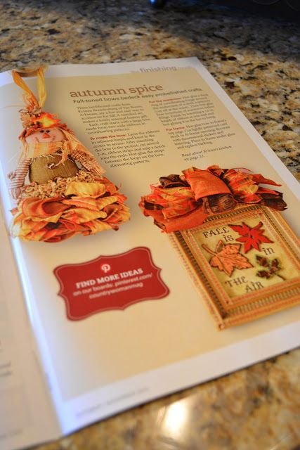 Kristen's Creations: Country Woman Magazine Featured Me In Their Fall Publication