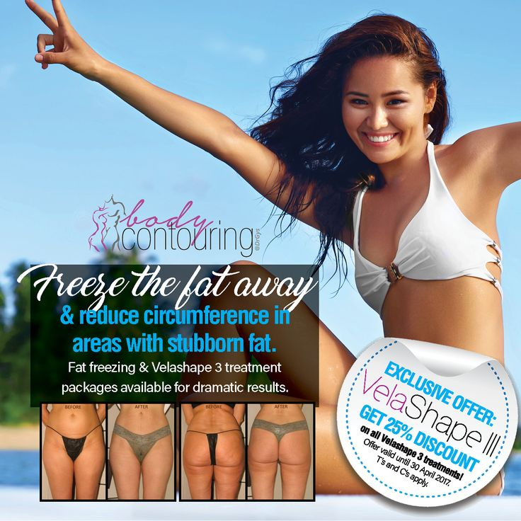 Freeze the fat away and reduce circumference in areas with stubborn fat. Fat freezing and Velashape 3 treatment packages available for dramatic results. Get 25% discount on all Velashape 3 treatments! For more information or bookings contact hello@drgys.com #Contouring #ExclusiveOffer #FatFreezing #VElashape