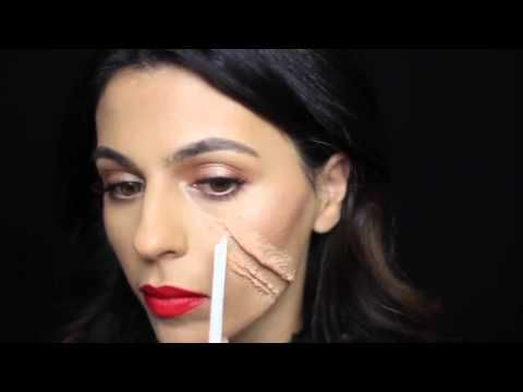 YouTube - little red riding hood makeup claw marks for Halloween