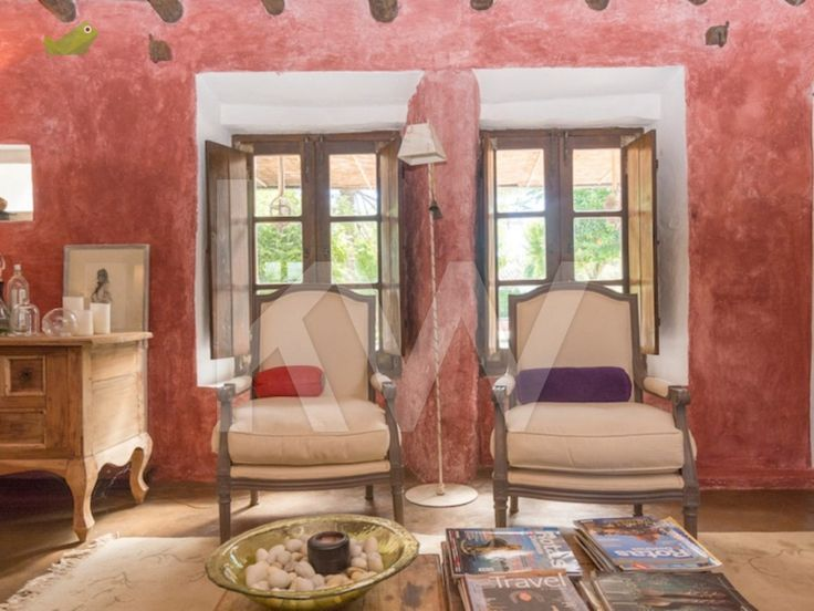 """Monte da fornalha: Interesting """"sitting windows""""  possible alternative to doord in the back of the farm house"""
