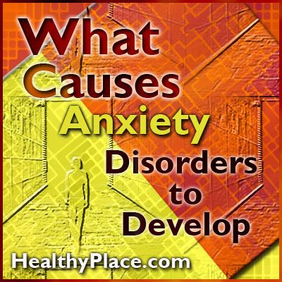 Learn what causes anxiety disorders. Heredity, brain chemistry, personality and life experiences discussed as anxiety disorder causes.