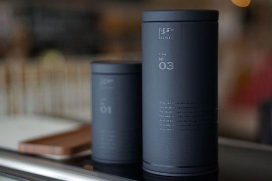 オリジナル茶缶 No.03(L) - コノハト茶葉店