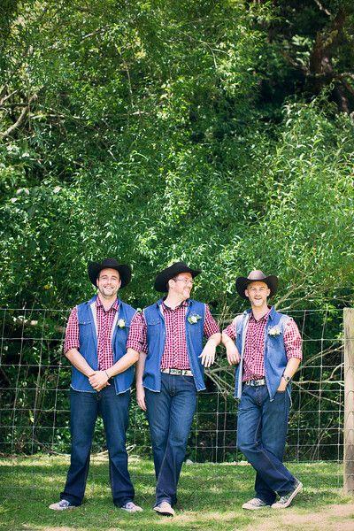 Cowboys Chillin - Groomsmen formal shoot