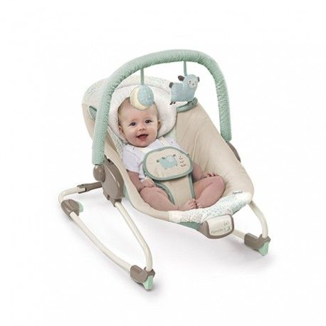 La sdraietta dondola avanti ed indietro per cullare i bambini più piccoli sin dalla nascita, e, quando i bambini crescono, può essere fissata in posizione per trasformarsi in sedia di lettura e di riposo per i bambini più grandicelli. Per un uso prolungato nel tempo- dalla nascita fino ai 18 kg! Vibrazioni calmanti su tutto il sedile possono essere attivate sia manualmente dalla mamma sia automaticamente dalla voce del bambino Sedile reclinabile in 3 posizioni e supporto poggiatesta morbido…