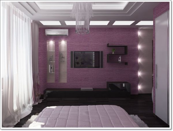 Purple Bedroom Ideas With Various Shades You Can Choose: 1000+ Ideas About Purple Bedroom Design On Pinterest