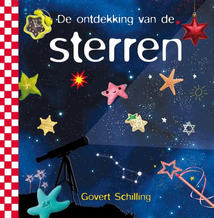 De ontdekking van de sterren van Govert Schilling. Beroemde en onzichtbare sterren, blauwe en rode, felle en zwakke, dwerg- en reuzensterren, verliefde en ontploffende sterren. Wanneer kun je je eigen sterrenbeeld zien? Hoe komen de sterren aan hun naam? Hoe ver staan de sterren eigenlijk? Hoe geven ze licht? Wanneer gaat de laatste ster uit? En zijn er echt meer sterren in het heelal dan zandkorrels op aarde?