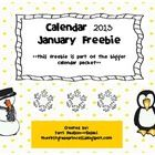 Welcome 2013!  This January freebie is a part of the Calendar 2013 packet. Each month has:Student pattern calendar, they fill in the dates.Cale...