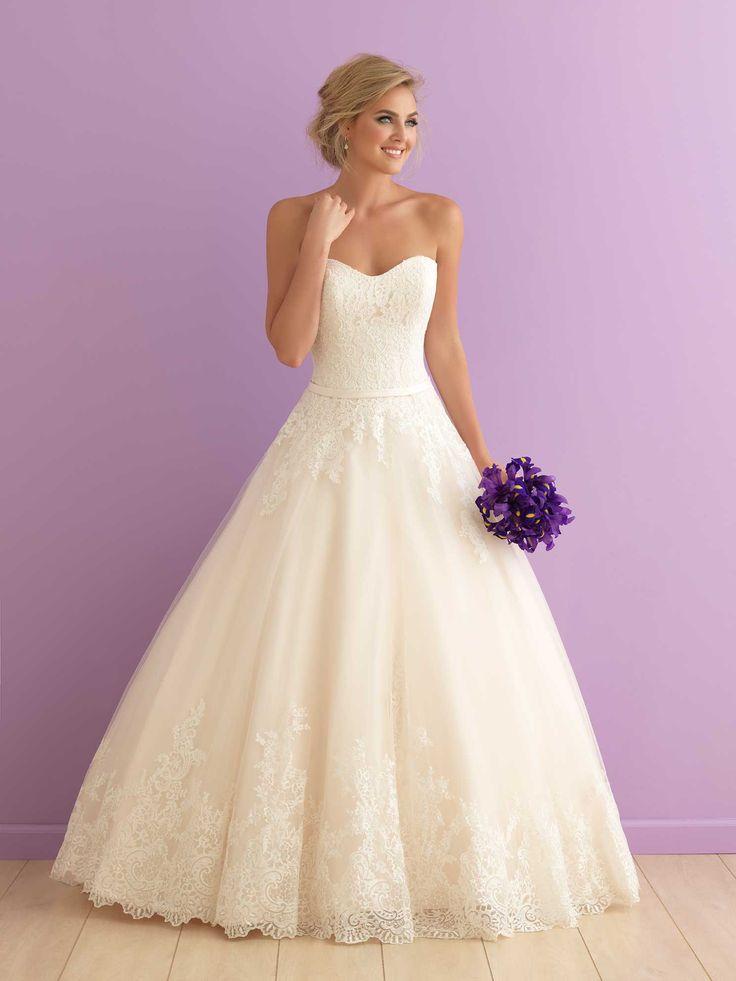 Classic Allure Bridals ballgown #sponsored