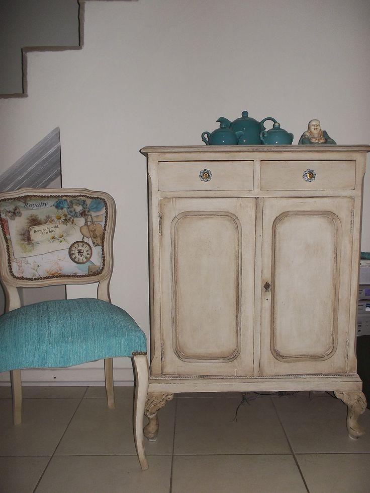 DESPUES-Mueble antiguo patinado por Vanesa Milia
