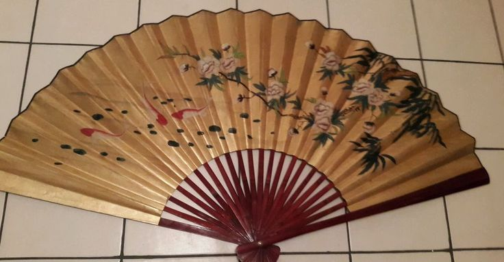 9 best images about oriental vintage fans on pinterest for Home decorations fan