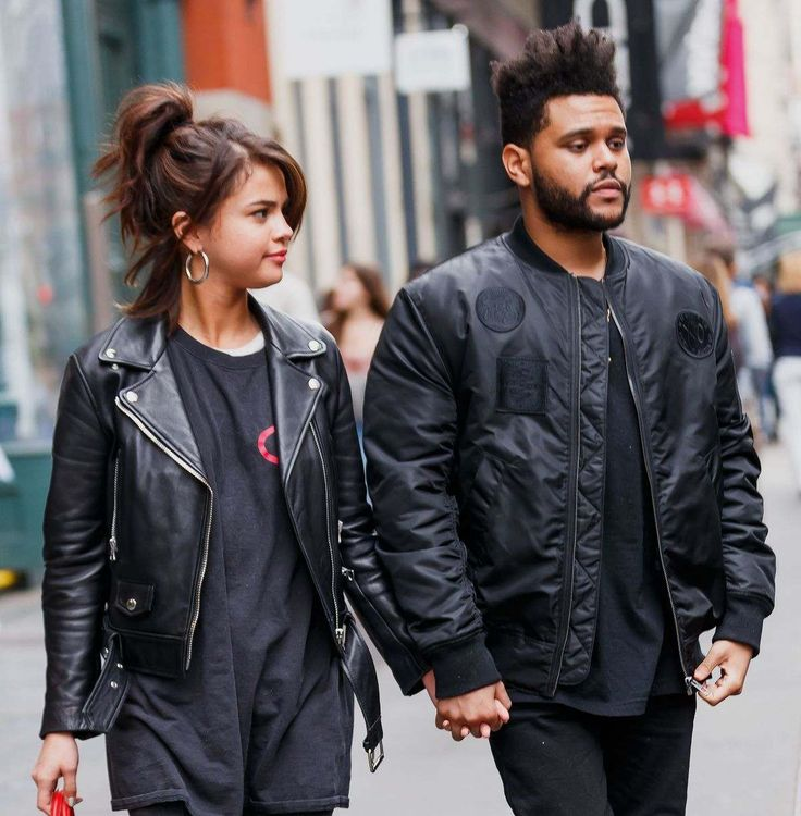 Selena Gomez And The Weeknd Out Shopping In New York
