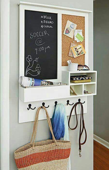 White wipe board instead of chalk board