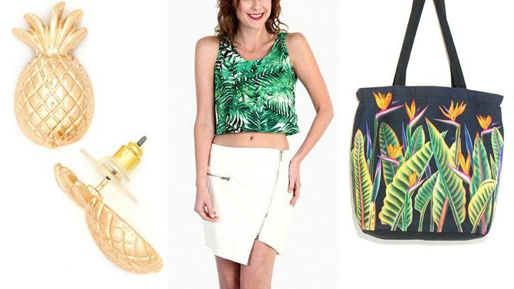 9 Ways To Wear The Tropical Print: bit.ly/1kq4WsJ   StyleList Canada
