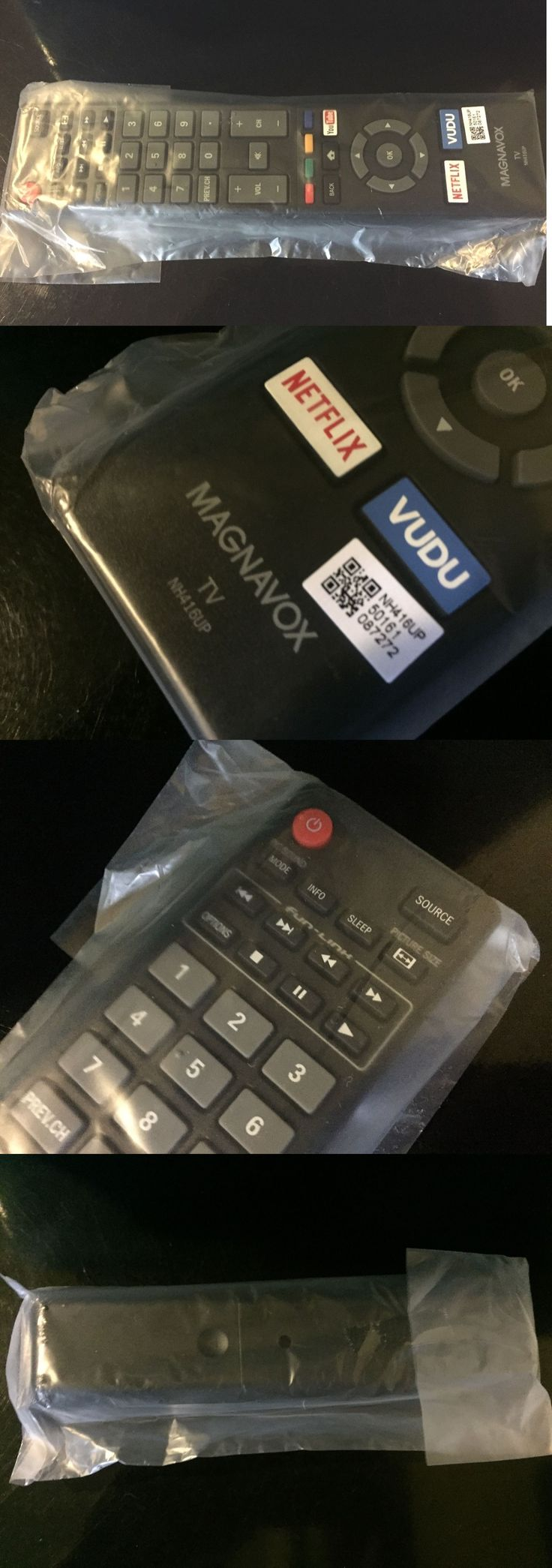 Remote Controls: Brand New Magnavox Led Smart Tv Remote Control - Model Nh416up BUY IT NOW ONLY: $42.5