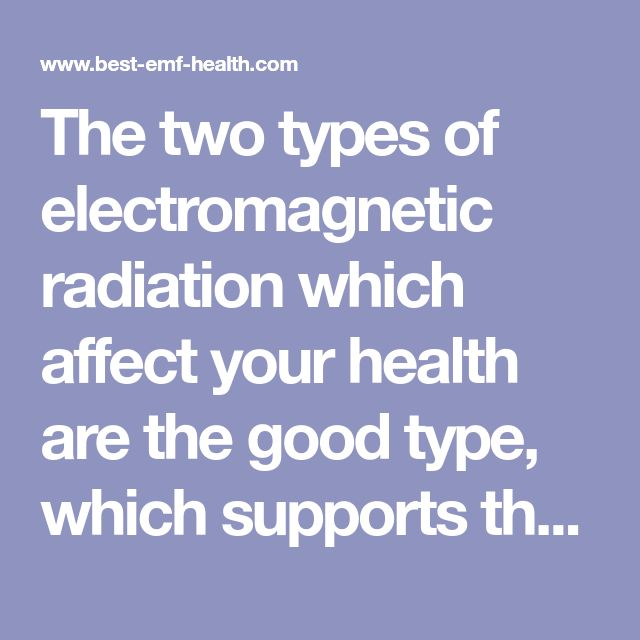 how to find the type of electromagnetic radiation
