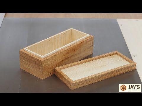 A Curly Hickory, Tiny Spline Mitered Box