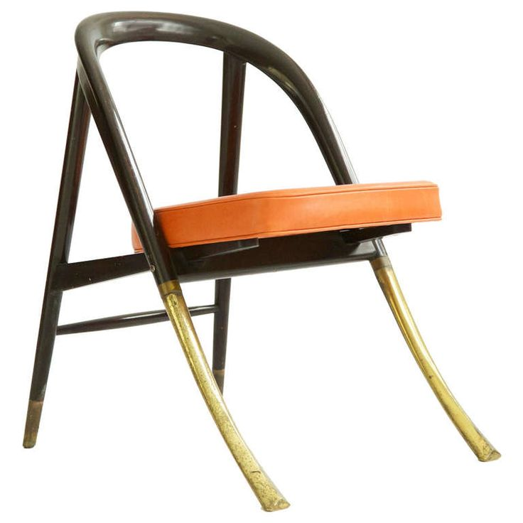 Edward Wormley Rare A Chair | From a unique collection of antique and modern lounge chairs at http://www.1stdibs.com/furniture/seating/lounge-chairs/