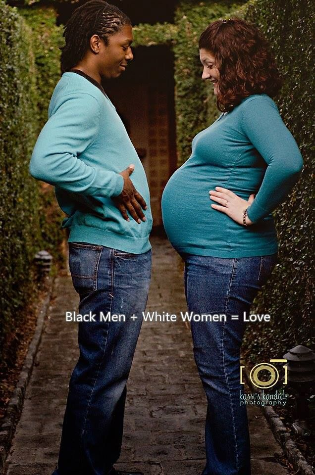 White women pregnant seeking black man