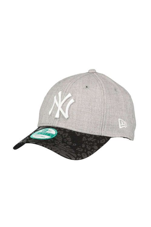 casquette peak jungle new york yankees new era gris noir casquette accessoires homme