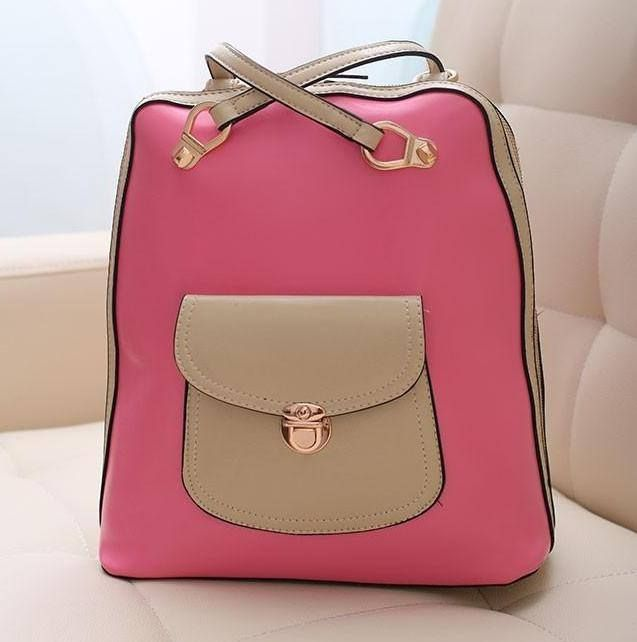 candy-colored backpack schoolbag, visit : http://id.favechic.com/xbus/view.php?itemno=87390, happy shopping :D