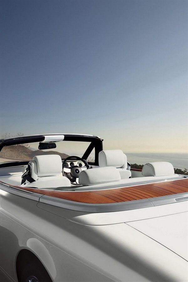 2013 Rolls-Royce Phantom Series II Convertible Interior Rear View