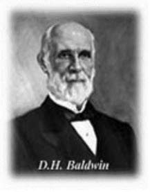 Dwight Hamilton Baldwin. An American piano manufacturer famous as the eponym and introducer of the Baldwin Piano. Baldwin began his career as a teacher of the reed organ and violin. He opened a music store in Cincinnati, Ohio in 1862, and became one of the biggest sellers of pianos in the Midwest. Along with invetor John Warren Macy, Baldwin created the first Baldwin piano in 1891, and introduced a grand piano in 1895. Cousin through birthfather's maternal line.