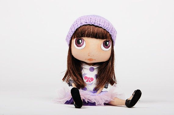 Castom doll  Doll Blythe inspired doll  doll Jointed  by teddyland, $100.00