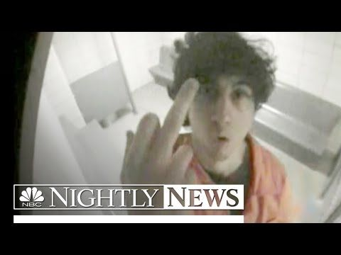 NBC News: Boston Bomber Tsarnaev's Obscene Gesture Shocks Court   NBC Nightly News