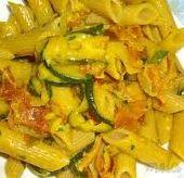 pasta risottata speck e zucchine