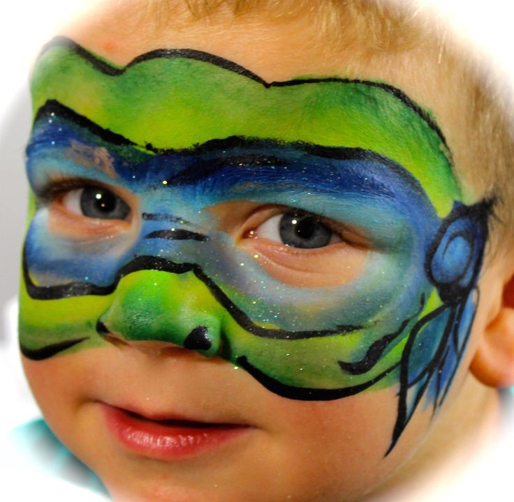 17+ Best Ideas About Ninja Turtle Face Paint On Pinterest | Boys Face Painting Halloween ...
