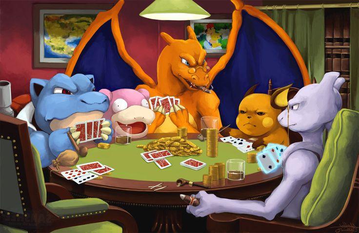 Pokemon vs Poker Which one do you choose?  #pokemongo #poker #Pikachu