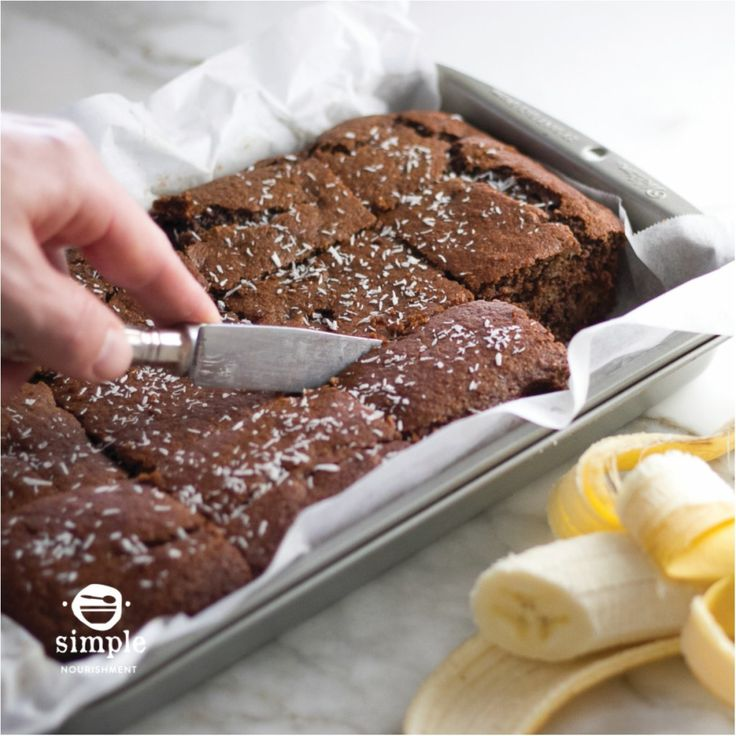 CACAO BANANA CAKE RECIPE FROM SIMPLE SNACKS PLUS YOUR CHANCE TO WIN A PRIZE PACK WORTH OVER $100!
