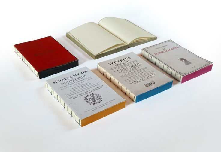 Mute books hand binded and handcoloured notebooks