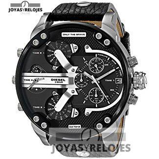 Maravilloso ⬆️😍✅ Diesel Mr. Daddy dz7313 😍⬆️✅ , Modelo perteneciente a la Colección de RELOJES DIESEL ➡️ PRECIO 221 € En Oferta Limitada en 😍 https://www.joyasyrelojesonline.es/producto/reloj-diesel-mr-daddy-dz7313-hombre-negro/ 😍 ¡¡Corre que vuelan!! #Relojes #RelojesDiesel #Diesel