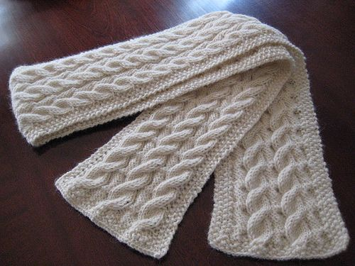 Cable Knit Scarf Pattern Latest Cable Scarf Pattern Knit With Cable