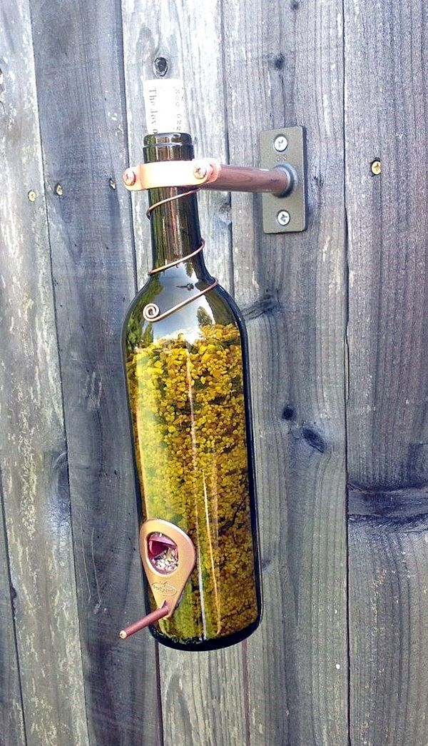 Intelligent Ways to Use Your Old Wine Bottles (22)