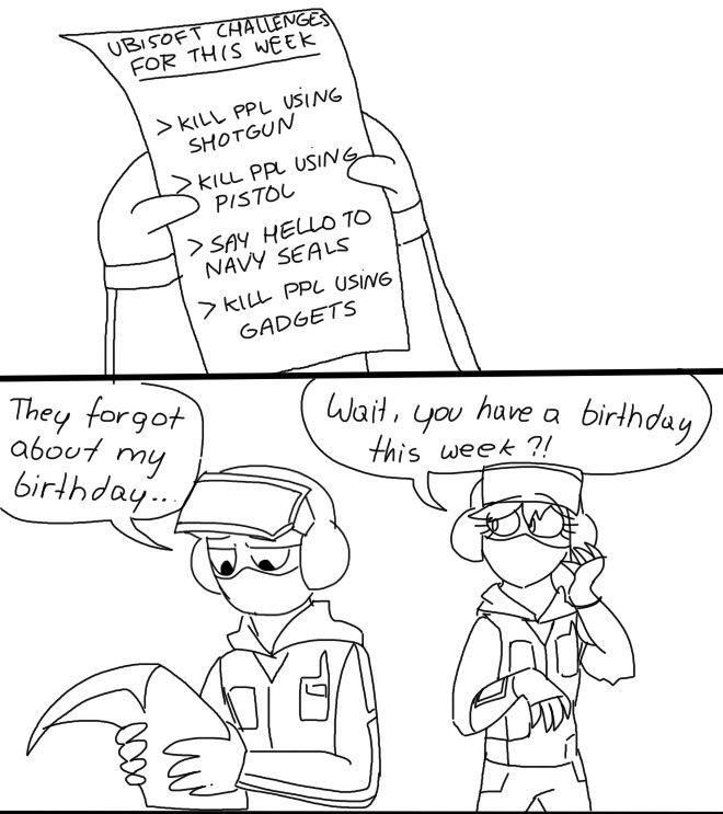 Bandit 1 Rainbow Six Siege Memes Rainbow 6 Seige Funny Games
