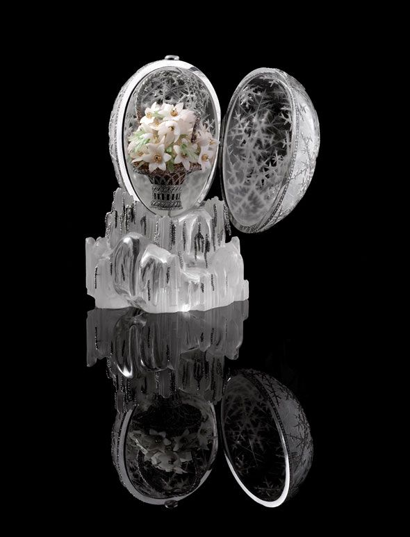 39 best faberge images on pinterest faberge eggs royalty and the winter egg was designed by alma pihl working for peter carl faberg tsar nicholas ii presented it as an easter gift for his mother tsarina maria negle Gallery