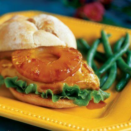 Hawaiian Chicken Sandwich