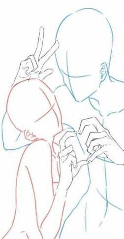 Trendy Drawing Couple Tutorial Pose Reference Ideas Drawing Poses Drawing Couple Poses Manga Poses