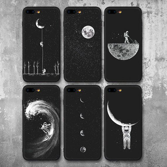 Just Witch Things (black and beige) iPhone 11 case