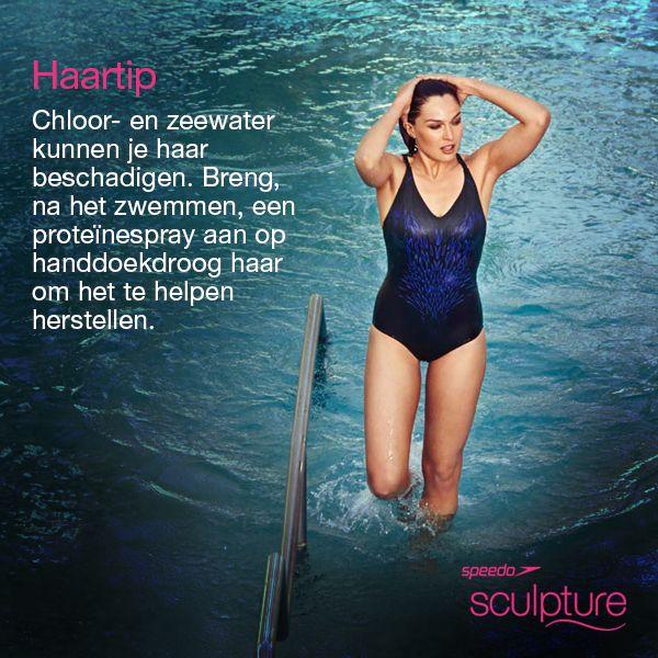 Na het zwemmen kun je je haar helpen herstellen door een proteïnespray te gebruiken. #TipTuesday #LoveYourSwim #Speedo