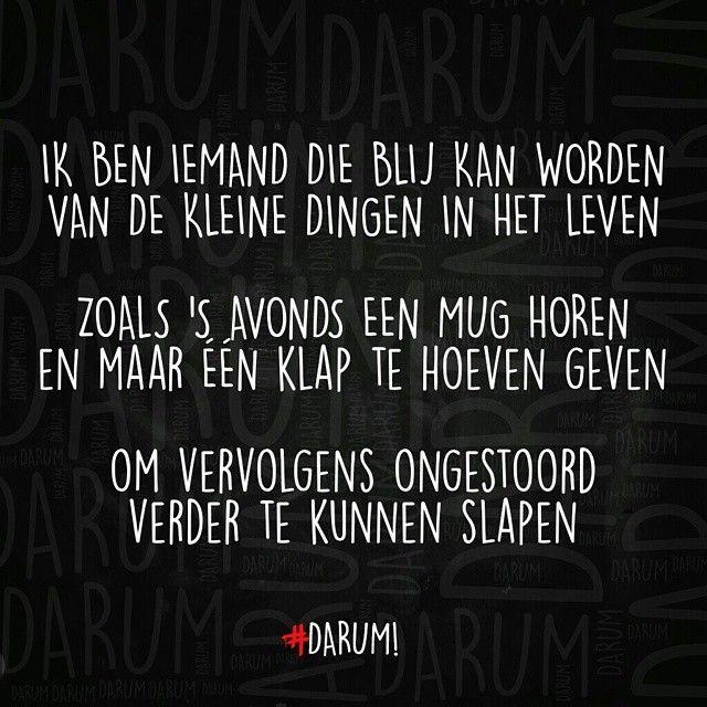 #darum #quote #tekst #humor #herkenbaar
