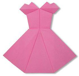 【折り紙】洋服の折り方・作り方(ワンピース、スカート、ドレス、浴衣 など) - NAVER まとめ
