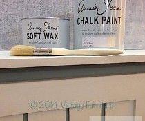 Annie Sloan Startpakket 1 liter Chalk Paint, Clear wax en een platte kwast
