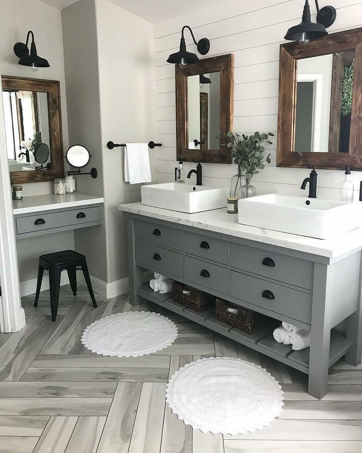Modernes Bauernhaus Master Bath Renovation – Beses…