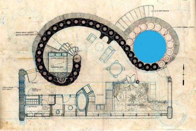 Fibonacci inspired recycled home dream home pinterest for Fibonacci architecture