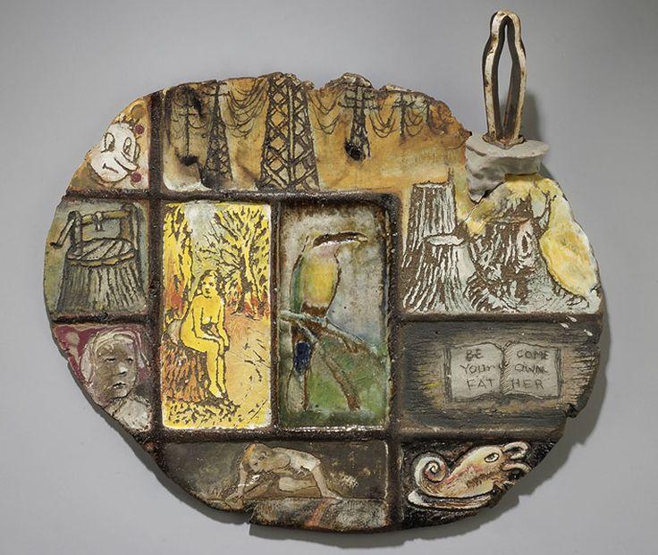 Arthur Gonzalez Sin Eater | Ceramic sculpture
