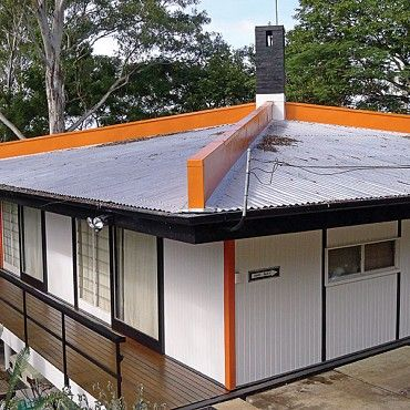 Jacobi House: The award-winning Jacobi House was built in 1957, and is a fascinating example of innovative design and use of materials in Australian mid-century architecture #boh2014 #unlockbrisbane #brisbane #discoverbrisbane