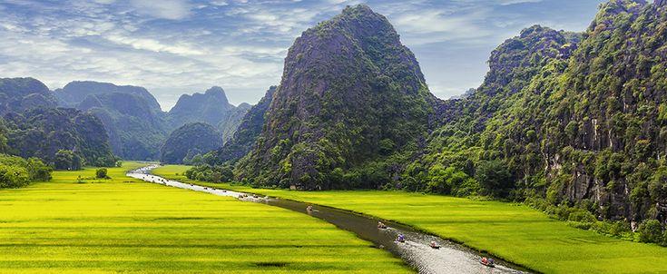 Tam Coc - Ninh Binh. #tamcoc #ninhbinh #karst #scenery #river #travel #wander